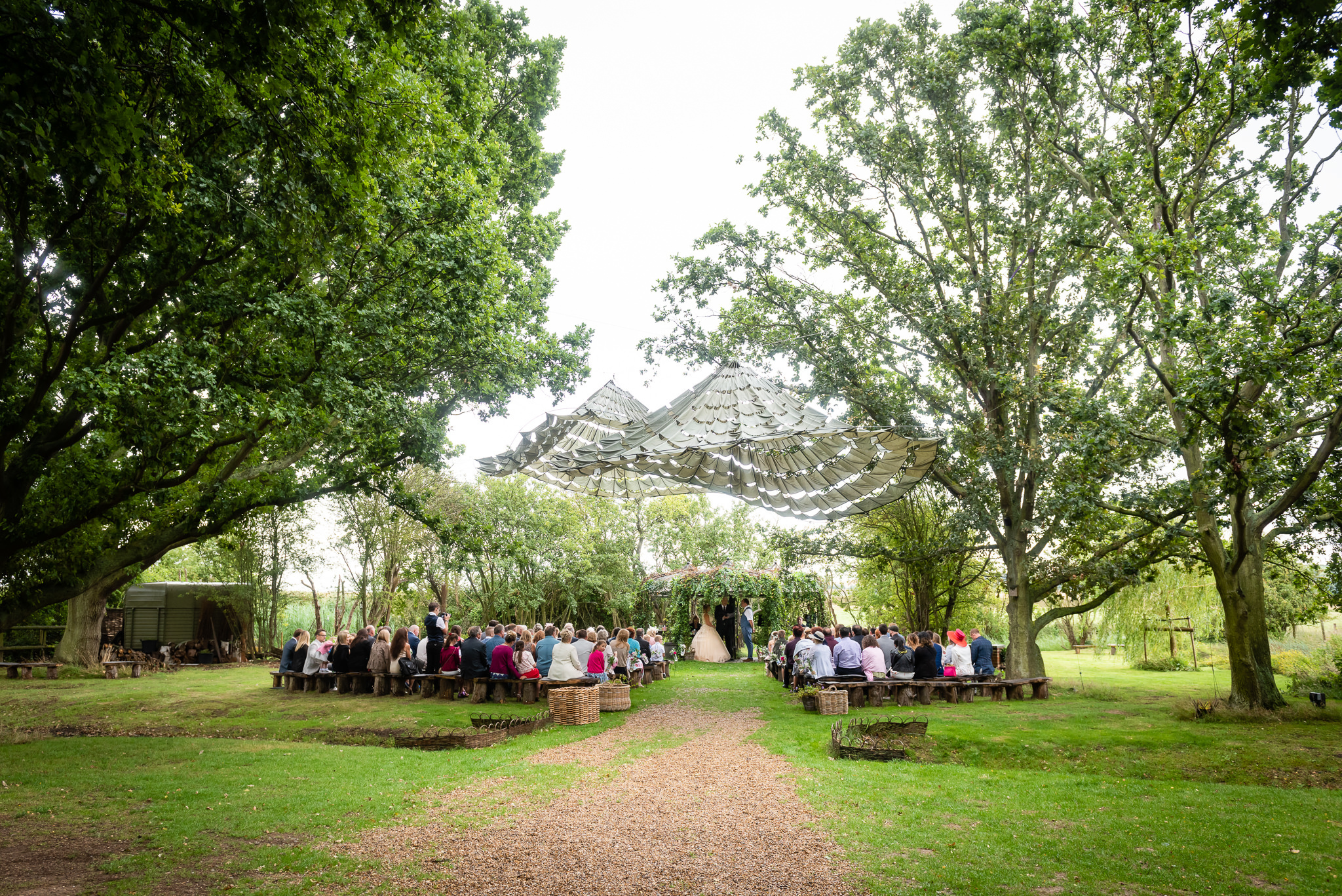 The Oak Grove a Woodland wedding venue