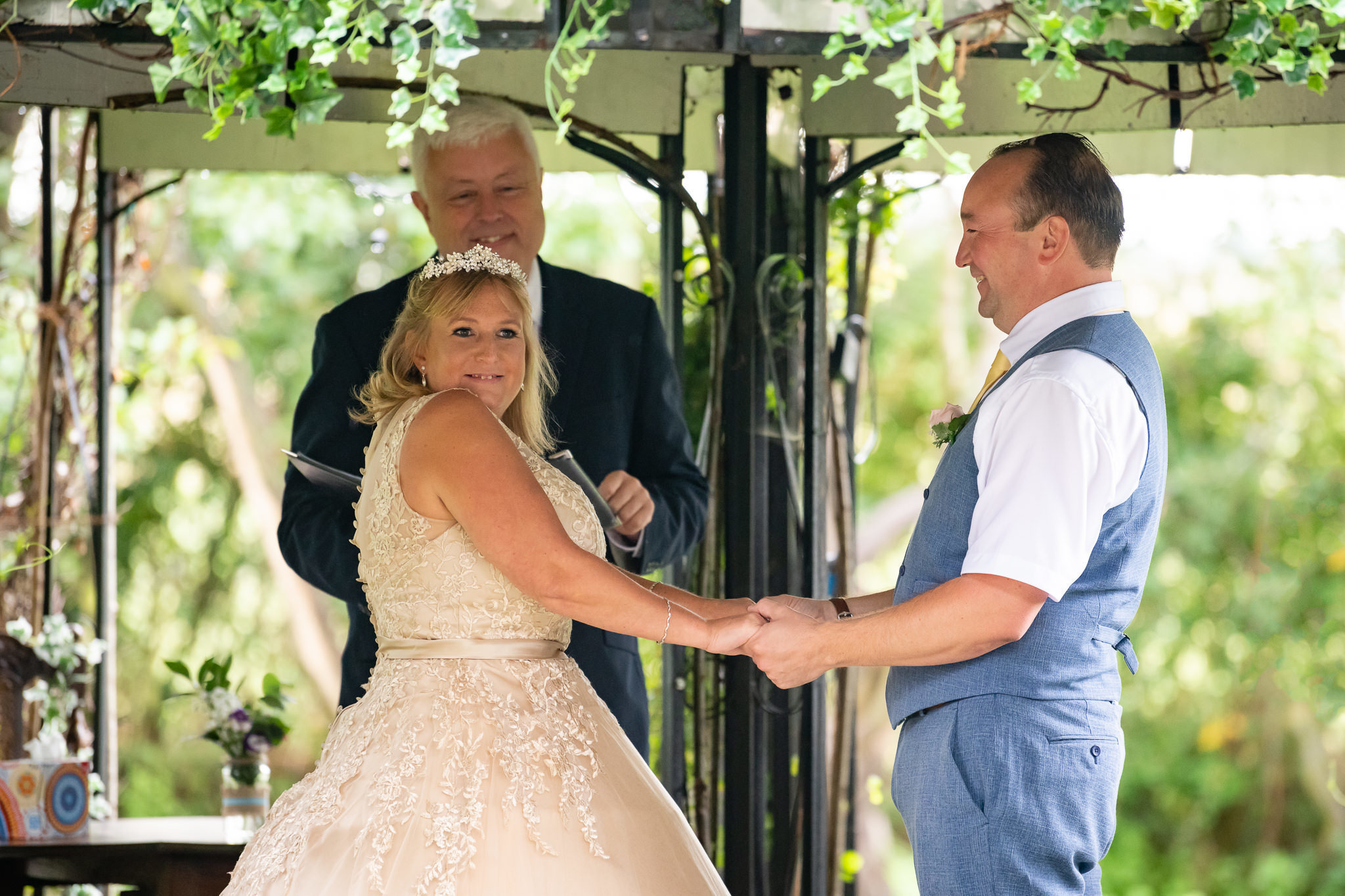 Woodland wedding at The Oak Grove