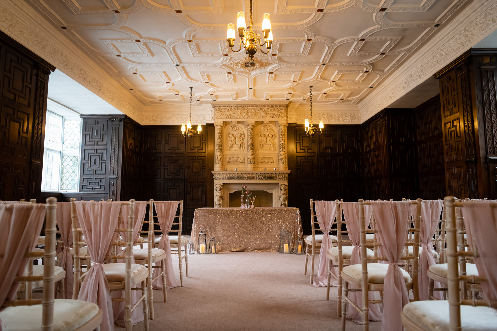 Rothamsted Manor wedding ceremony