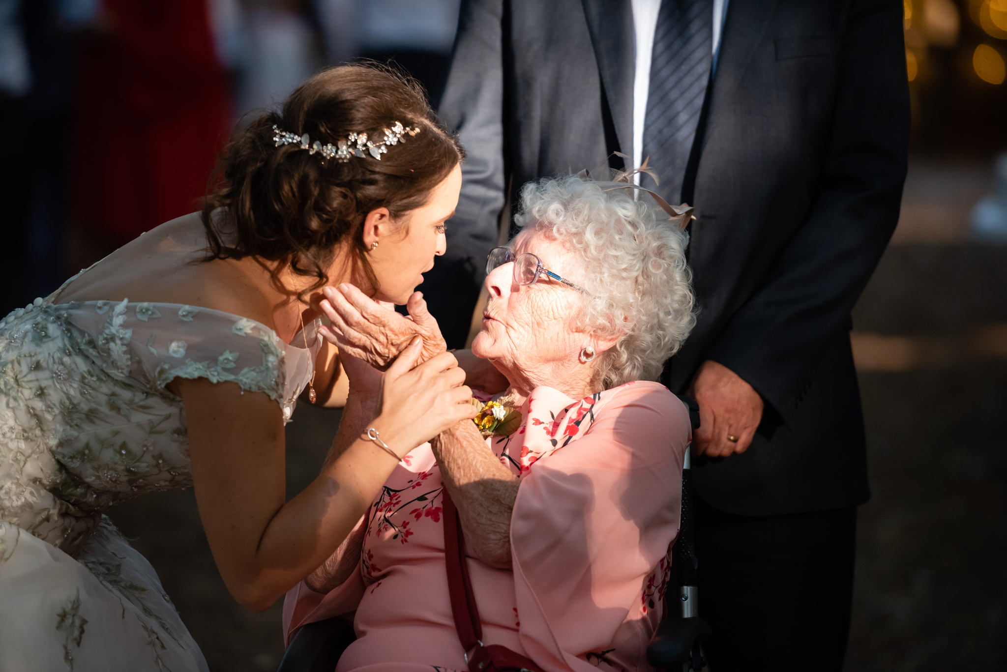 The Bride says goodbye to her Gran